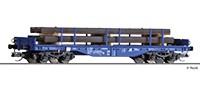TT Flachwagen Sgmmns- 4505 ERR Ep.VI mit Beladung