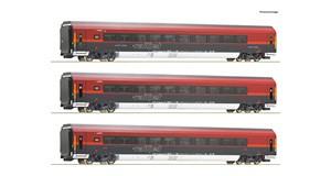 H0 Railjet-Set 3-tlg., ÖBB, Ep.6, DCC