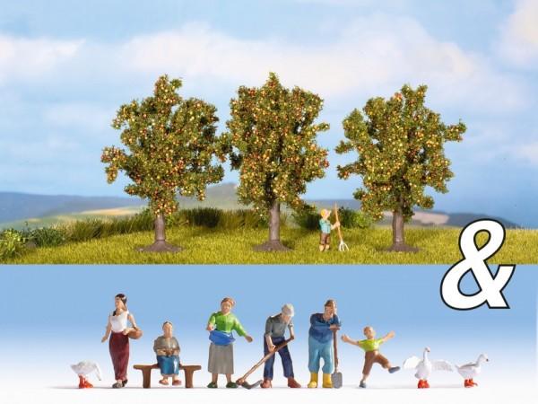 N Set: Landwirte + Apfelbäume NH2020