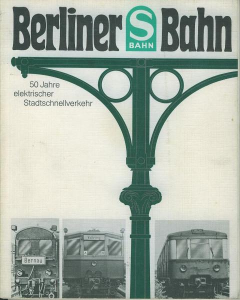 Buch Berliner S-Bahn 1924-1974
