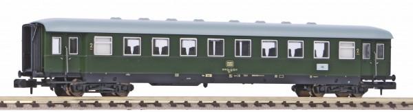 N Schürzen-Eilzugwagen 2.Kl. DB-4 grün NH02/2020