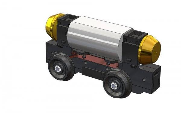 87 Strab Antriebsblock 23mm-Achsstand HO NH2020(02)