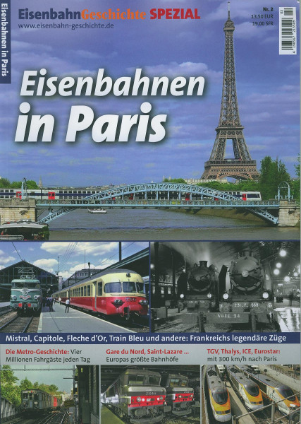 Buch Eisenbahnen in Paris