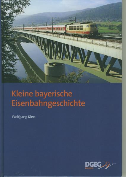 Buch Kleine bayerische Eisenbahngeschichte