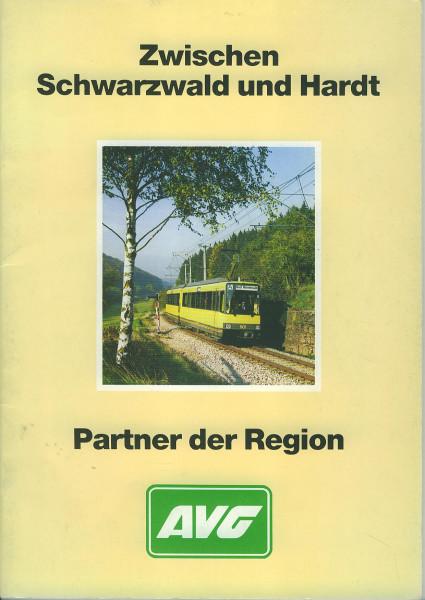 Buch Zwischen Schwarzwald und Hardt - AVG Partner der Region