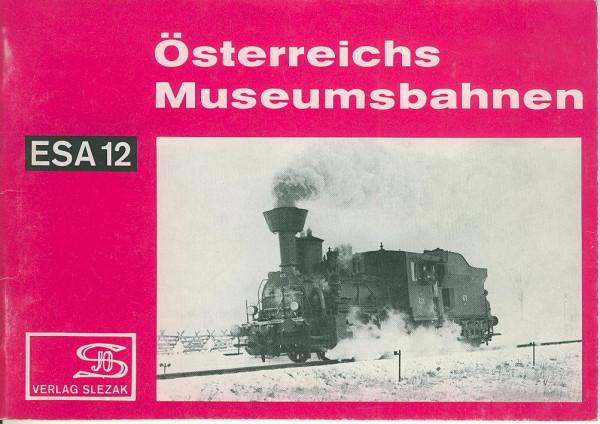 Buch Österreichs Museumsbahnen