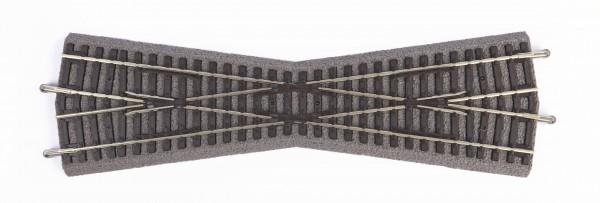 H0 B-Gleis Kreuzung 15° (G239mm) NH02/20