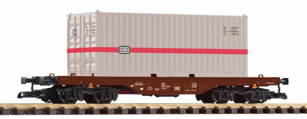 G Tragwagen/4-a. DB-4 + 20ft.-Container 'DB' NH09/2020