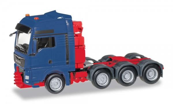 87 MAN TGX/XXL Schwerlast-Zugmaschine, blau/rot NH2020(05)