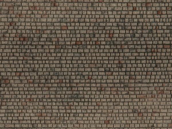 H0 Struktur-Folie 'Mauerwerk Quader' NH2020