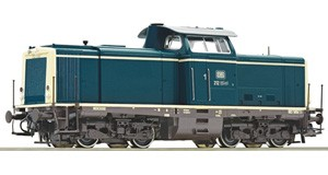 H0 Diesellokomotive BR 212, DB, Ep.4-5, DC