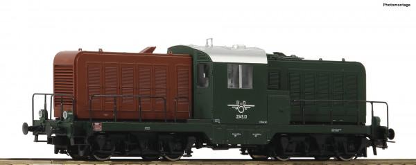 H0 Diesellok BR 2045.13 ÖBB Ep.III grün/braun ANALOG