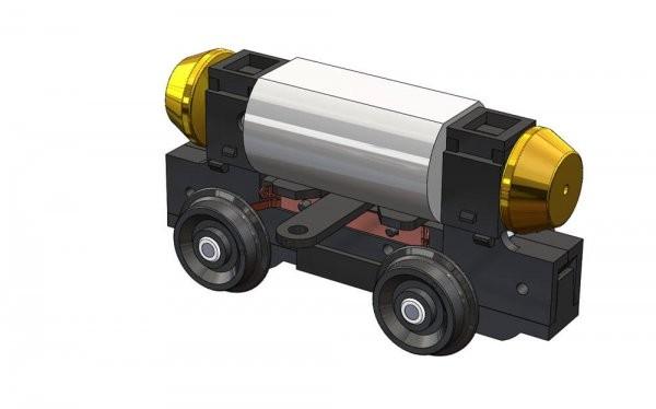 87 Strab Antriebsblock 30mm-Achsstand HO NH2020(02)