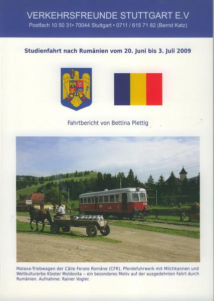 Buch Studienfahrt nach Rumänien - Fahrbericht 20. Juni bis 3. Juli 2009