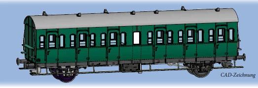TT Abteilwagen/2-a. B-21 DR-3 NH2020(III)