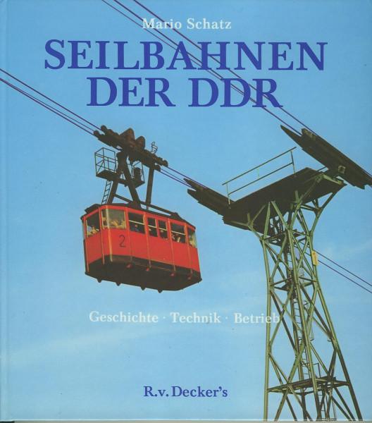 Buch Seilbahnen der DDR Geschichte - Technik - Betrieb
