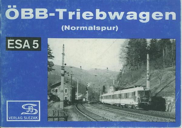 Buch ÖBB-Triebwagen Normalspur