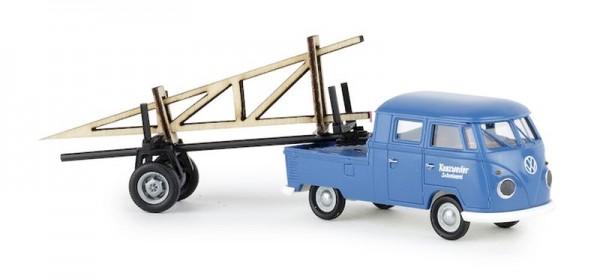 """87 VW DoKa mit Nachläufer/Ladegut """"Schreinerei"""" NH2020(I)"""""""