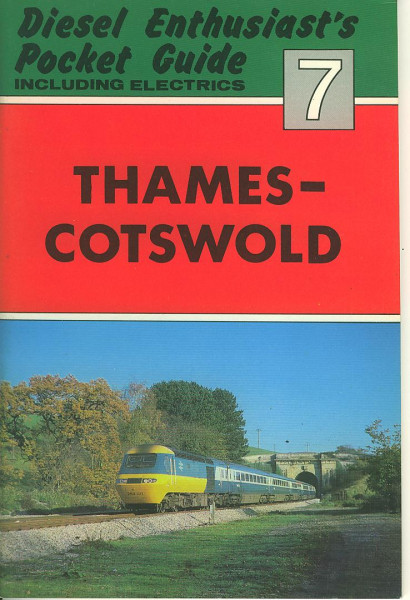 Buch Diesel Enthusiast's Pocket Guide 7 - Thames-Cotswold