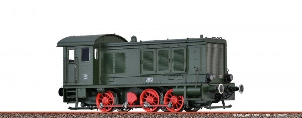 H0 Diesellok WR 360 DRG, II, DC ANALOG