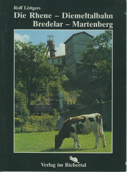 Buch Die Rhene-Diemeltalbahn Bredelar-Martenberg