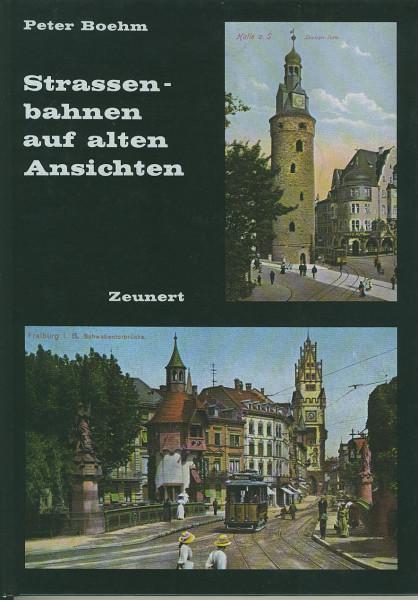 Buch Strassenbahnen auf alten Ansichten