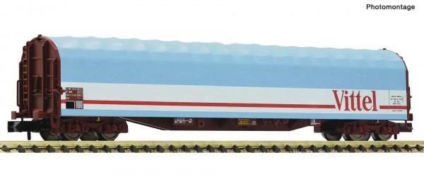 N Schiebeplanenwagen/4-achs. SNCF Ep.V hellblau Vittel