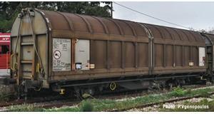 H0 Schiebewandwagen, AAE, Ep.6, DC