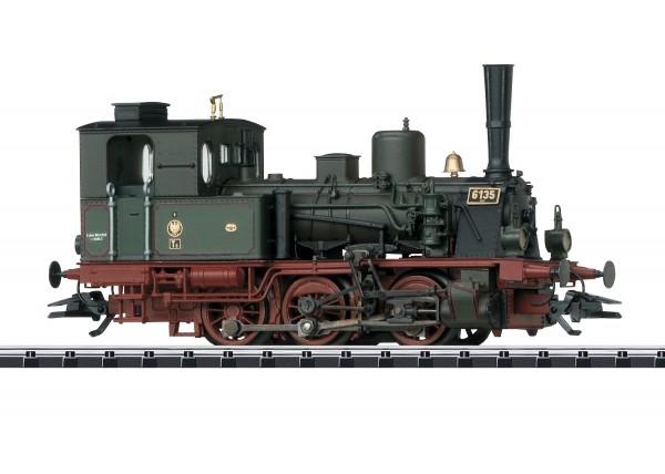 H0 Dampflok BR.T3 KPEV-1 grün SOUND NH2020