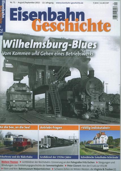 Heft Eisenbahn-Geschichte Nr. 071