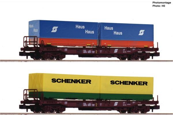 N Einheitstaschenwagen-Paar ÖBB Ep.4 #1