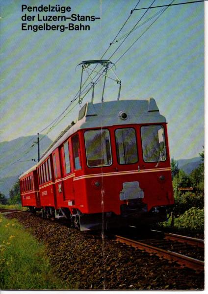 Buch Pendelzüge der Luzern-Stans-Engelberg-Bahn