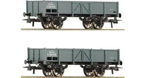 H0 Offene Güterwagen-Set 2-tlg., KKSTB, Ep.1, DC