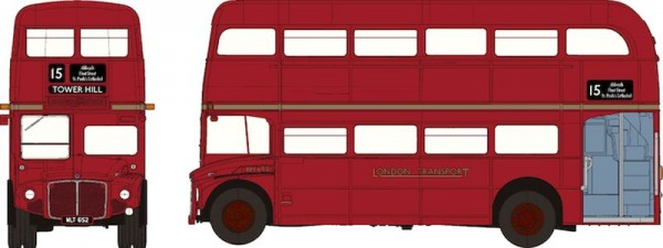 87 Routemaster Doppeldecker aus London, rot (City) NH2020(I)