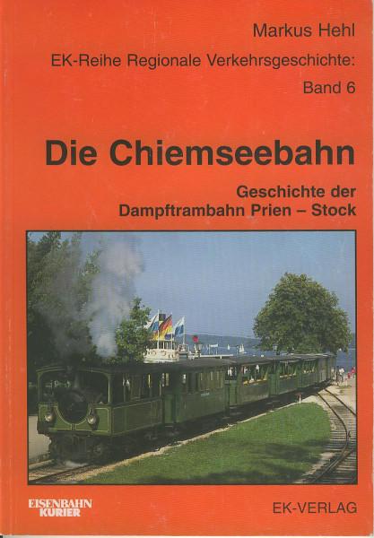 Buch Die Chiemseebahn - Geschichte der Dampftrambahn Prien-Stock