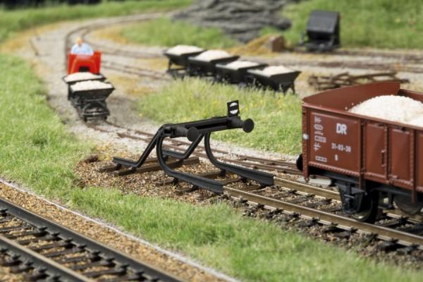 TT Prellbock geschwunge Schiene 2-Stück NH2020(07)