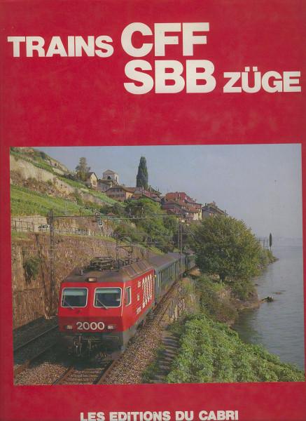 Buch Trains CFF - SBB Züge