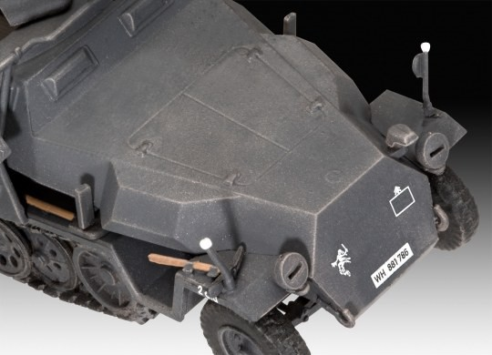Sd.Kfz. 251/1 Ausf. C + Wurfr