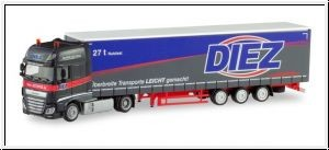 87 DAF XF105SSC LowLiner-Sattelzug 'Diez' NH2020(03)