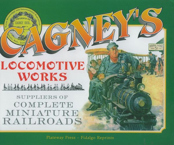 Buch Cagney's Locomotive Works Manufacturers - Catalogue 1901