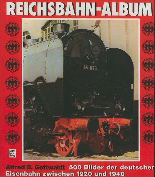 Buch Reichsbahn-Album 1920-1940 - 500 Bilder der deutschen Eisenbahn