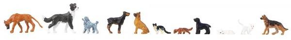 H0 Hunde und Katzen