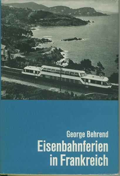 Buch Eisenbahnferien in Frankreich