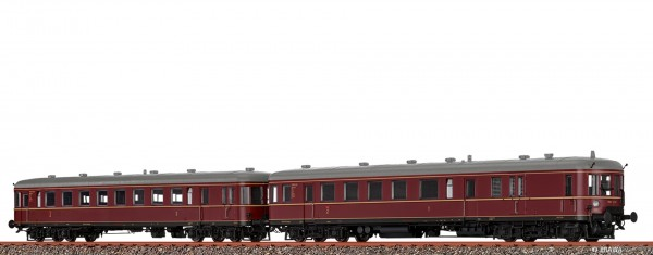 H0 Triebwagen VT 60.5+945 DB, III, DC EXTRA