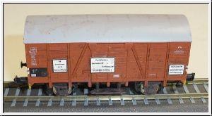 TT- WIEMO EXCLUSIV Bahnhofswagen-Hamm, DB, Ep.IV, gealtert
