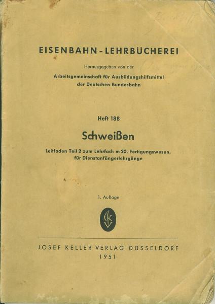 Buch Eisenbahn-Lehrbücherei - Schweißen