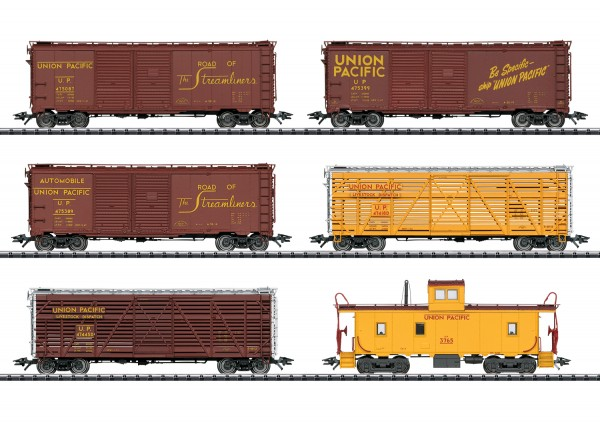 H0 US-Güterwagen-Set UP-3 6-tlg. NH2020