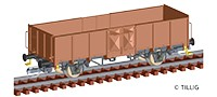 TT Güterwagen off. Wddo PKP Ep.III