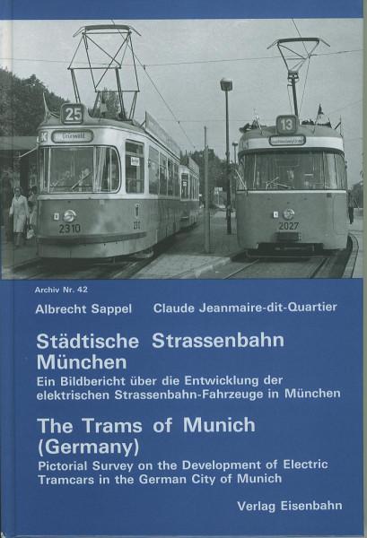 Buch Städtische Straßenbahn München