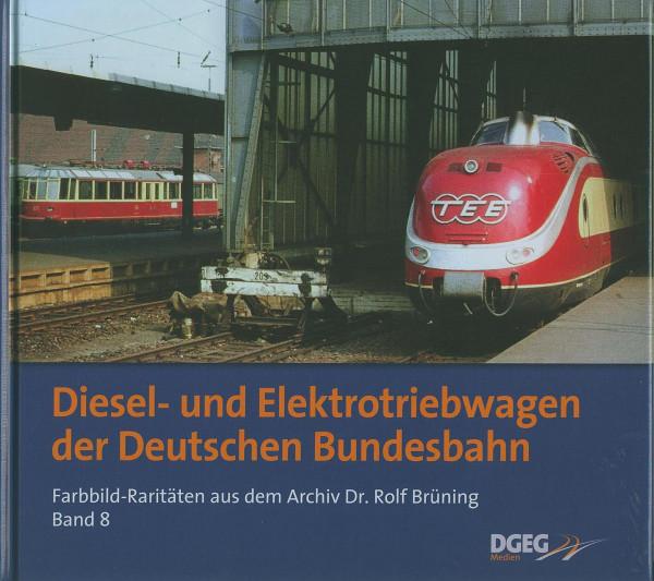Buch Diesel- und Elektrotriebwagen der Deutschen Bundesbahn